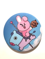 BT21 Badge - COOKY & MANG