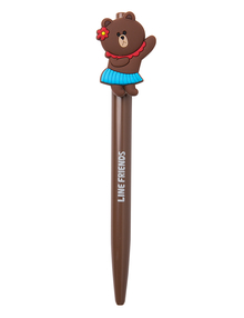 Hula Dance  Brown  ballpoint  pen