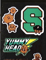 SHOOKY   STICKER