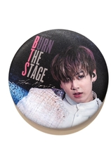 BTS BURN THE STAGE  Badge  - JUNGKOOK