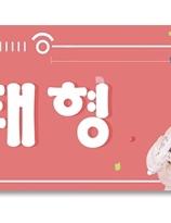 BTS   banderoll - V