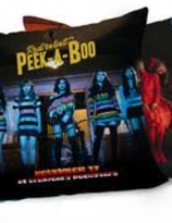 Red Velvet Peek A Boo Pillow