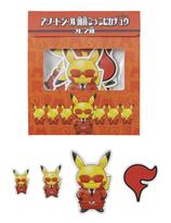 Team Flare Pikachu Klistermärken