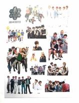 EXO klistermärken