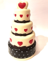 Cake  with heart  Squishy