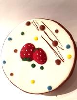 Starwberry cake Squishy