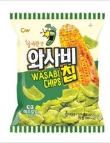Korean wasabi chips