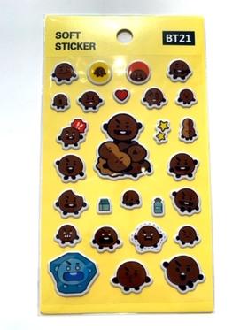 BT21  klistermärken - SHOOKY
